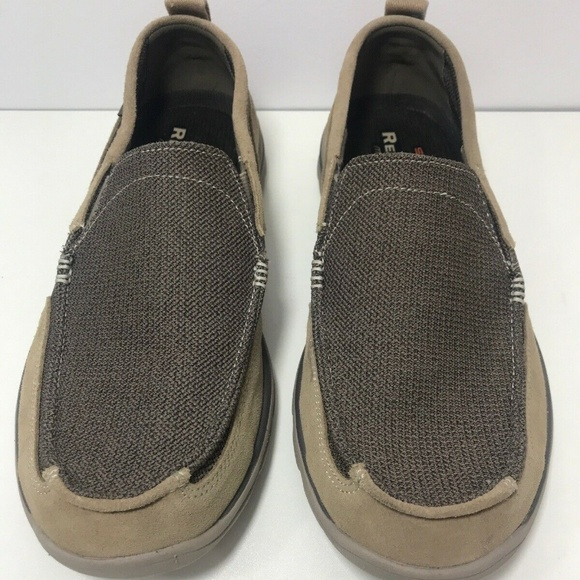 Skechers 11.5 Extra Wide Brown Casual Suede loafer